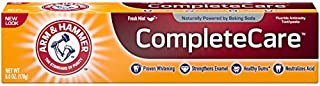 ARM & HAMMER Complete Care Fluoride Anticavity Toothpaste, Fresh Mint 6 oz (Pack of 4)