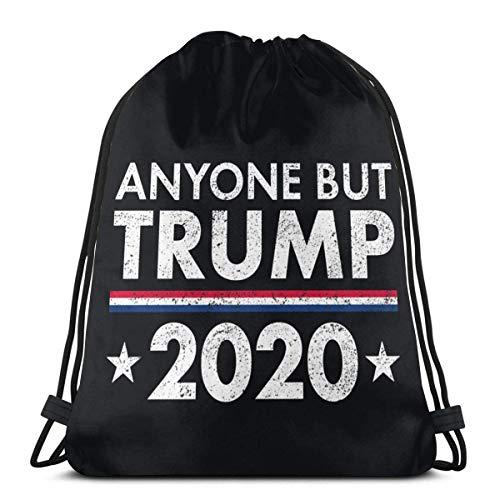 Anyone But Trump 2020 - Mochila con cordón