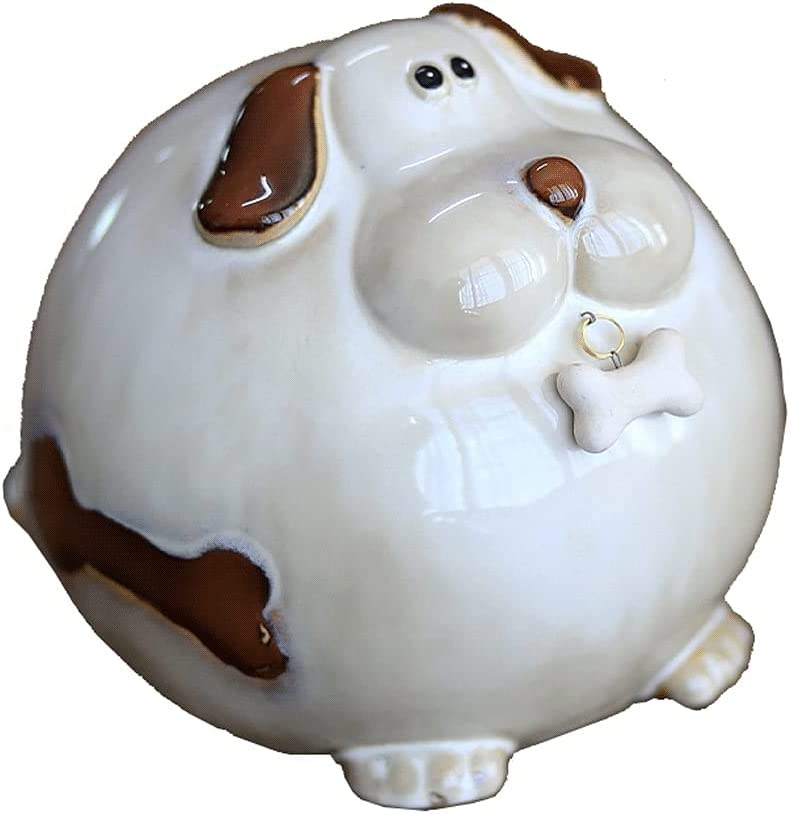 Lucky Long Beach Mall Decorative Ornaments Gift Money Manufacturer direct delivery Bank Fat Dog Shape B Piggy