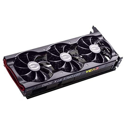 EVGA 10G-P5-3885-KR GeForce RTX 3080 XC3 Ultra Gaming, 10GB GDDR6X, iCX3 Refrigeración, ARGB LED, Placa Trasera de Metal 5