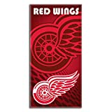 NHL Detroit Red Wingsエンブレムビーチタオル、30x 60-inch