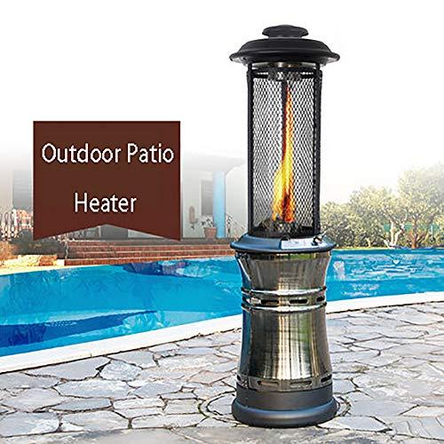 CRZJ Estufa de Terraza, al Aire Libre Calentador de Patio, Comercial, de Suelo de Calentador de Patio