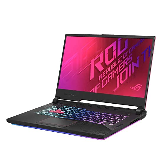 Asus I7 ROG Strix G1 G512LI-HN273TS i7-10870H/ GTX1650Ti-4GB/ 8G+8G/ 1T SSD/ 15.6 FHD-144hz/ RGB Backlit/ NumberPad/ WIFI6/ 48Wh/ WIN10/ MSO H&S 2019/ Black Plastic/