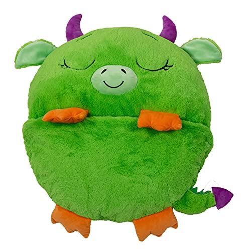 Dormi Locos- Dragón, Color Verde (Concentra 506132)