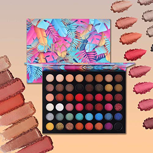 ad: ONLY $8   48 Shade Rainbow Eyeshadow Palette   use code 8FCCOZUE at checkout   …
