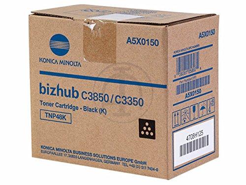 Konica-Minolta Original - Toner schw. - A5X0150