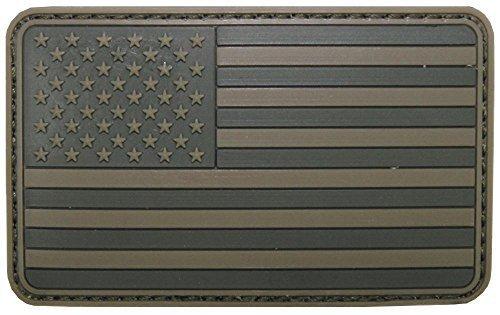 Parche velcro, Estados Unidos, Color, 3D, tamaño: