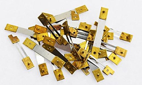 Frech Uhr X 10Einheiten Messing blockiert sortiert Uhr Pendel Druckfedern