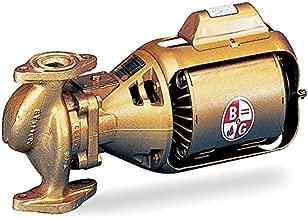 Bell & Gossett Circulating Pump Series 100 Model 100 BNFI 1/12 hp 115 Volts
