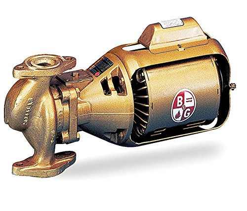Bell & Gossett Circulating Pump Series 100 Model 100 BNFI 1/12 hp 115V