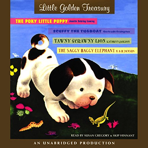 Little Golden Treasury audiobook cover art