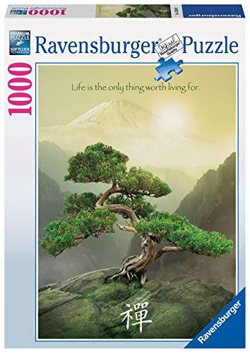 Ravensburger Puzzle Puzzle 1000 Pezzi, Albero Zen, Puzzle Paesaggi, Puzzle per Adulti, Puzzle Ravensburger - Stampa di Alta Qualità