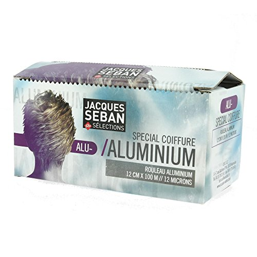 Papier aluminium 12 microns, 12cm x 100m Papier aluminium 12 microns, 12cm x 100m Jacques Seban