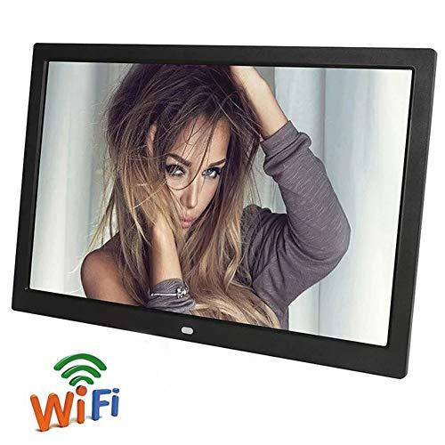 StAuoPK 19-Zoll-WiFi Digital Photo Frame, Smart-Cloud-Foto-Rahmen, elektronisches Fotoalbum mit LCD-Handy für Wireless Photo/Video-Übertragung,A