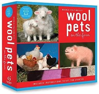 Wool Pets on the Farm Needle Felting Kit