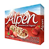 AlpenシリアルバーStrawberry&Yogurtストロベリー&ヨーグルトCereals