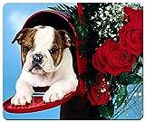 Not Applicable Simpatico Idea Regalo per San Valentino Puppy Large Rettangolare Mousepad Mouse Pad
