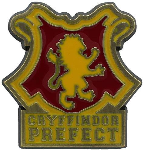 Harry Potter Pin Gryffindor Vertrauensschüler Wappen 3x3,2x0,2cm Metall