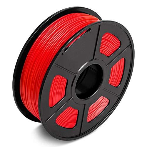 PLA 3D Filament Druckmaterialien 1.75mm, Aishtec Filament PLA 1.75mm Dimensionale Genauigkeit +/- 0.02 mm, 1Kg/pule, 1 Pack
