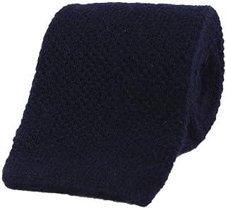 40 COLORI Cravatta a maglia tinta unita in misto lana cashmere