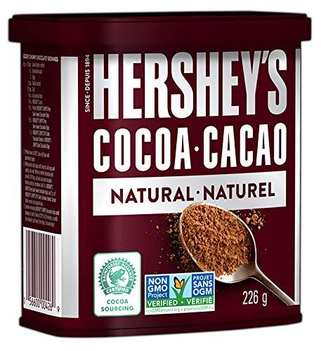 HERSHEY'S Baking Chocolate, Unsweetened Cocoa, 226 Gram (Packaging May Vary)