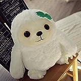 KAIGE 1PC Linda Pereza muñeca de la Felpa del Animado Sloth Los Animales de Peluche de Juguete de Felpa Suave Appease muñeca 40 / 50cm @ 40cm_White (Color: Blanco) WKY (Color : White)