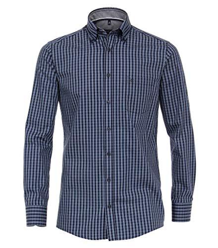 Casa Moda - Comfort Fit - Herren Freizeit Hemd (493112200), Farbe:Blau (100), Größe:M