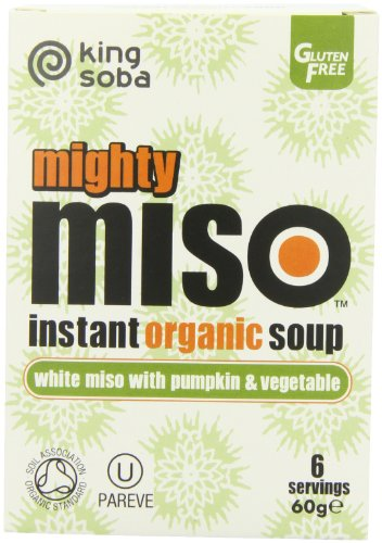 King Soba Org Miso Soup Pumpkin Veg 60 g (order 10 for trade outer)