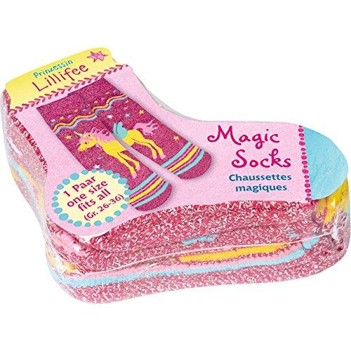 Die Spiegelburg 13434 Magic Socks Prinzessin Lillifee, one Size (Gr. 26-36)