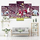 Angle&H Modular Sport Hintergründe Poster Wayne Rooney