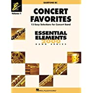 Concert Favorites Vol1 Baritone Bc (Essential Elements 2000 Band) by Michael Sweeney (2015-10-02)