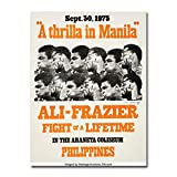 Chicarianoy Thrilla in Manila Hot Movie Art Silk Poster Wall Art Home Decor Gifts for Lovers Painting