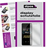 dipos I 2X Schutzfolie klar kompatibel mit Allview X4 Soul Xtreme Folie Bildschirmschutzfolie