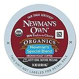 Newman's Own Organics Keurig Single-Serve K-Cup Pods Special Blend Medium Roast Coffee, Fair Trade Certified, 24 Count