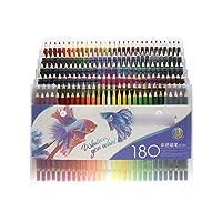 新しい120/150/180色鉛筆水彩色鉛筆アーティストオフィス学校描画スケッチ画材用ウッドソフトオイル色鉛筆-180 oil Pencil-