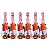 Codorníu | Anna de Codorníu Rosé |Cava Brut Rosado | Medalla de Oro Tasting.com - 2016 | Caja de 6 botellas de 75 cl