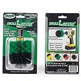 Drill Brush Power Scrubber Accesorio original 7,5cm verde para Taladro de potencia depurador para el azulejo de la lechada, zócalos, duchas, baños y limpieza de uso general verde/negro