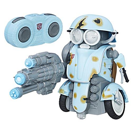 Transformers 5: The Last Knight – Autobot Sqweeks – Ferngesteuertes Modell mit Licht- und Sound (Englische Sprache)