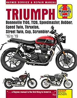 Coombs, M: Triumph Bonneville T100, T120, Speedmaster, Bobbe (Haynes Service & Repair Manuals)