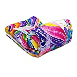 Cute Unicorn Girl Blanket Baby Toddler Soft Newborn Throw Comfort Warm Plush Rainbow 30X40 Inches Blanket