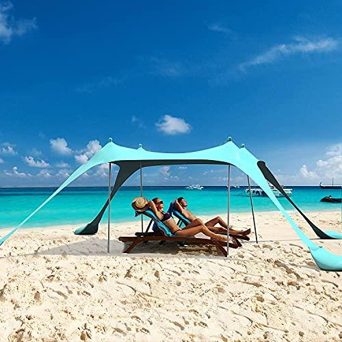 Strandmuscheln Strand Sonnenschutz...