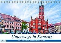 Unterwegs in Kamenz (Tischkalender 2022 DIN A5 quer): Ein fotografischer Stadtspaziergang durch Kamenz. (Monatskalender, 14 Seiten )