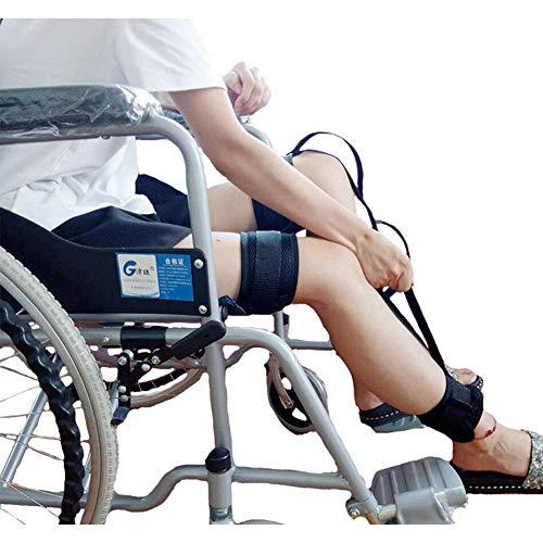RZM Beinheberband Handicap Lift Rollstuhl Ältere Hebegeräte Fuß Knie Oberschenkel Schlaufe mit Handgriff für Behinderung (Farbe: -, Größe: -)