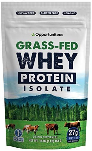 Opportuniteas Grass-Fed Whey Protein Isolate