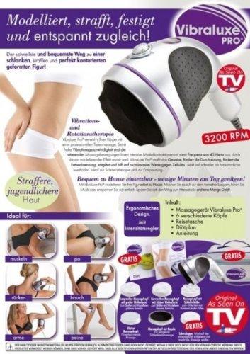 Vibraluxe Pro Massager bekannt aus dem TV