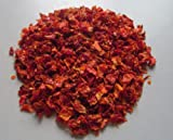 Red Bell Pepper Flakes - 1/2 Pound ( 8 Ounces ) - 3/8 Inch Size Dehydrated Vegetables by D...