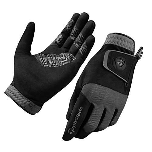 TaylorMade Golf 2018 Herren Premium Regen Control Nasse Wetter Golf Handschuhe ** PAAR ** Medium