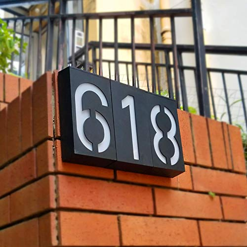 10 Best Solar Powered Address Numbers Sign Lights Reviews 10