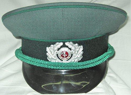 LAGERMAULWURF.de Schirmmütze, Volkspolizei Gr. 55,Vopo, Uniformen, Fasching,Karneval, Polizei