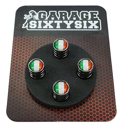 bester Test von yt capra al Garage-Sixty Six4 Ventilkappe Italien Schwarz Chrom / Modell: Detroit